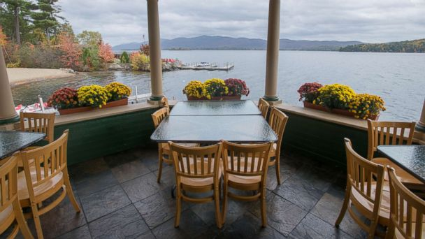 PHOTO: Lakeside hotel Lodges at Cresthaven.