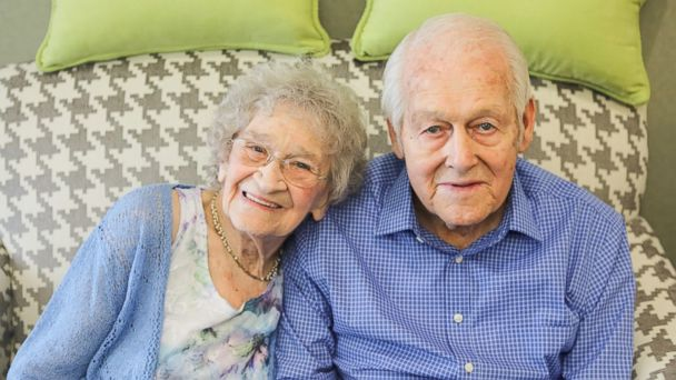 PHOTO: Donald and Vivian Hart of Grand Rapids, Michigan, celebrated their 80th anniversary on June 25.