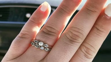 PHOTO: After Ariel McRaes engagement ring was criticized, her passionate reminder to focus on your relationship and not the ring has gone viral on Facebook.