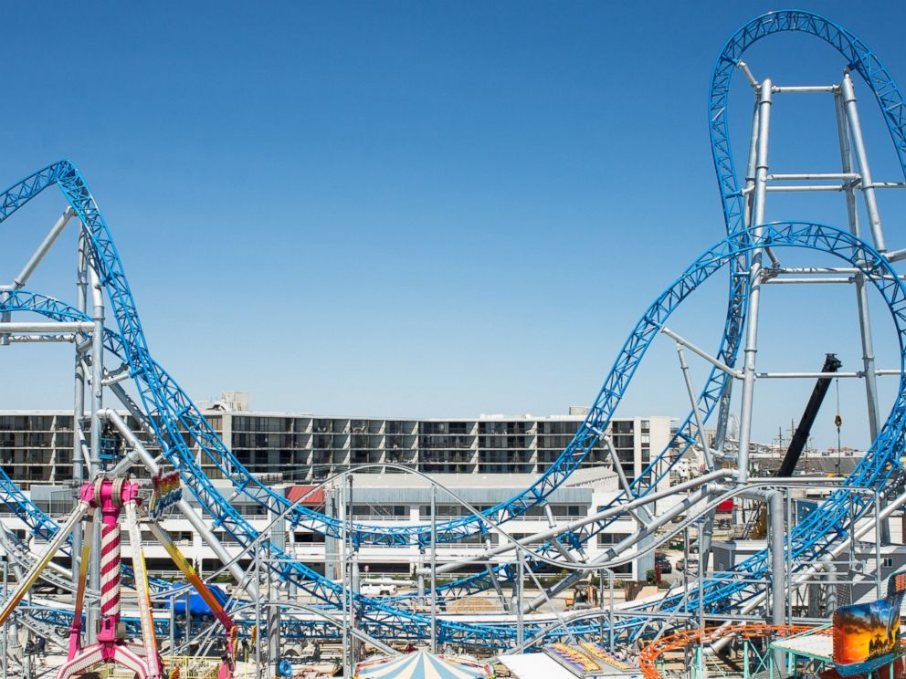 PHOTO: GaleForce at Playland Castaway Cove in Ocean City, N.J. is 125 feet tall and launches riders at 64 mph.