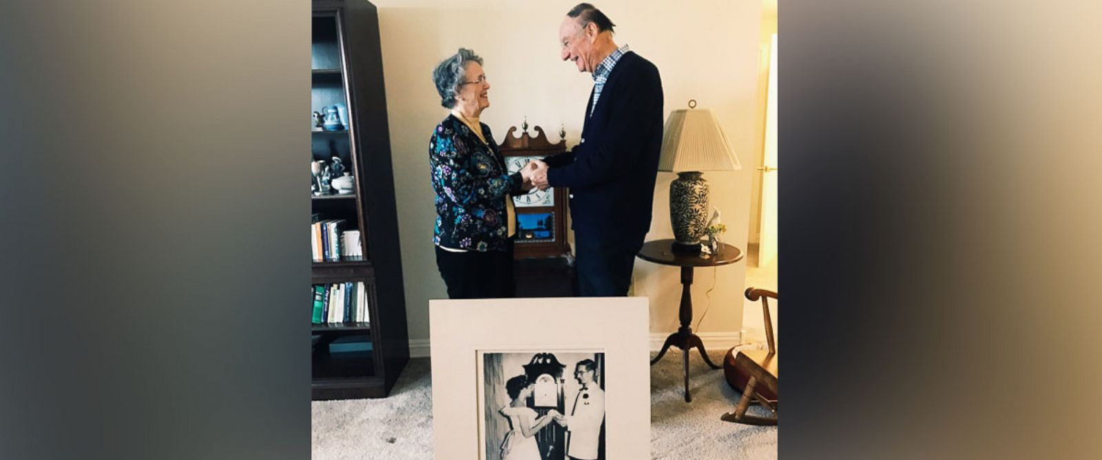 PHOTO: Joyce Kevorkian and Jim Bowman married on April 1 in Notre Dame, Indiana, 64 years after being prom dates.
