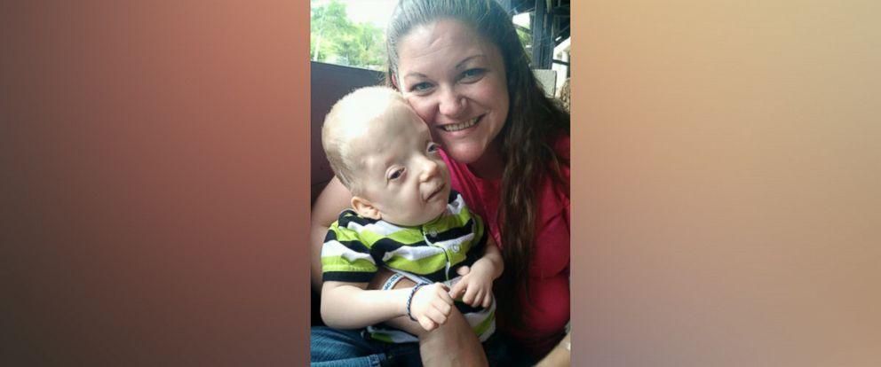 PHOTO: Jenny Smith of Ranburne, Alabama said a photo of her son Grayson, 3, was turned into an Internet meme.