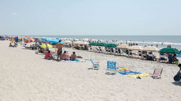 PHOTO: Myrtle Beach is one of the 8 most crowded U.S. beaches.