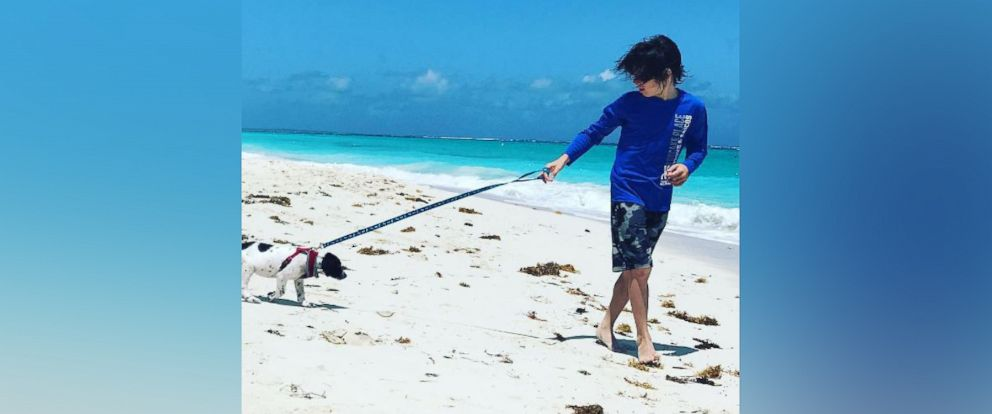 PHOTO: Potcake Place, located in Providenciales, Turks & Caicos, allows tourists to play with puppies all day.
