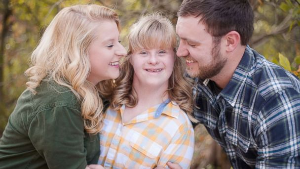 PHOTO: Will Seaton (R) proposed to sisters Ashley and Hannah Schaus.
