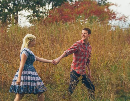 Till Death Do Us Part: 'Friday the 13th' Engagement Photos