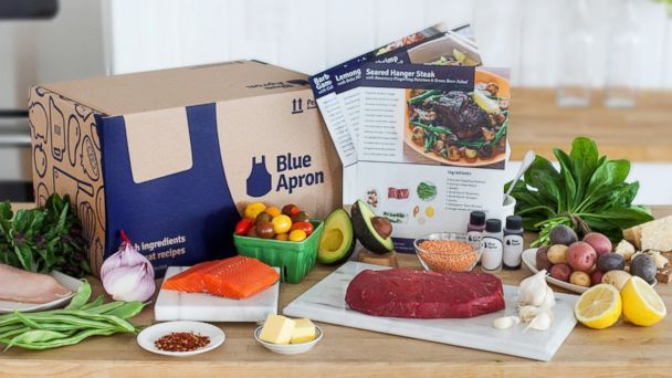 PHOTO: Perfect for food lovers, Blue Apron delivers fresh ingredients for custom recipes to your door.