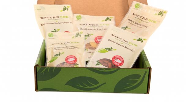 "PHOTO: NatureBox, a monthly snack delivery service or ""personal snack concierge,"" gives the gift of convenience."