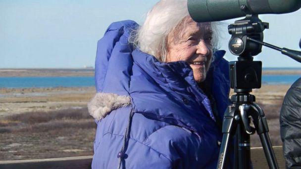 ht Nancy McDonough Greenhalgh ll 131105 16x9 608 100 Year Old Woman Fulfills Bucket List Dream to See Polar Bears in the Wild