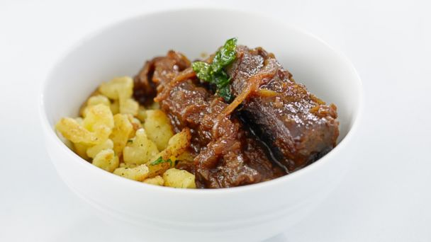 PHOTO: Wolfgang Pucks Short Rib Goulash with Spaetzle