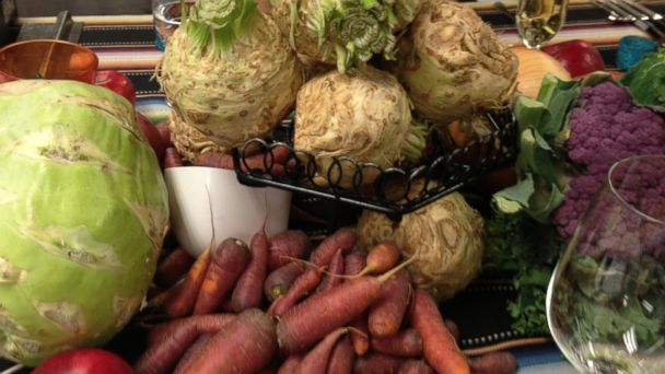 PHOTO: Seasonal Produce at Terra