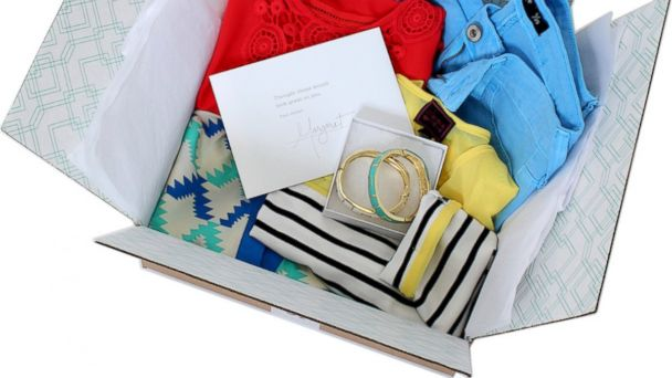PHOTO: Stitch Fix, a personal styling service, hand-picks five clothing and accessory items for delivery.
