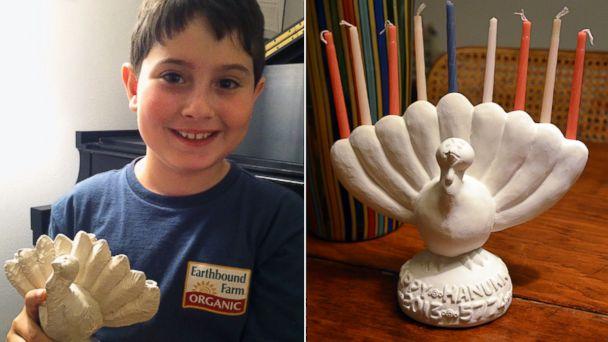 ht asher weintraub menurkey ll 131115 16x9 608 Ingenious Ten Year Old Creates Menurkey for Thanksgivukkah