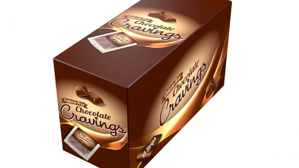 "PHOTO: There is currently a Kickstarted for Cravings, a zero-calorie ""chocolate."""