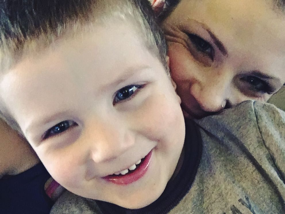 PHOTO: Ashley Grimm, 31, of Emmett, Idaho, is urging parents to hold your babies tight, after a car accident took the life of her 4-year old, Titus, on June 2.