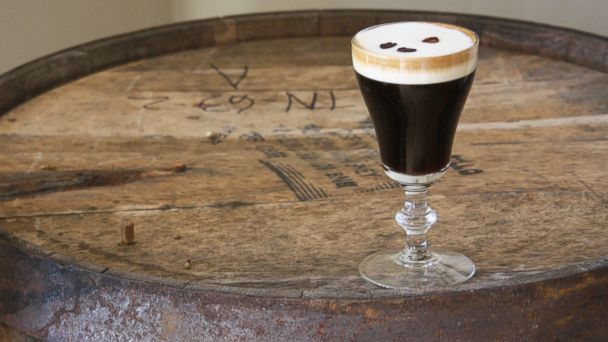PHOTO: Classic Irish Coffee