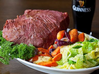 PHOTO: Guinness-marinaded corned beef.