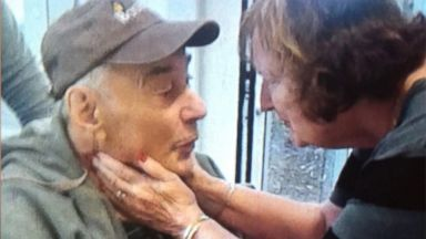 PHOTO: Wolfram Gottschalk, 83, and Anita Gottschalk, 81, were reunited, Sept. 22, 2016, after a photo of them crying when they were forced to live in separate nursing homes went viral.