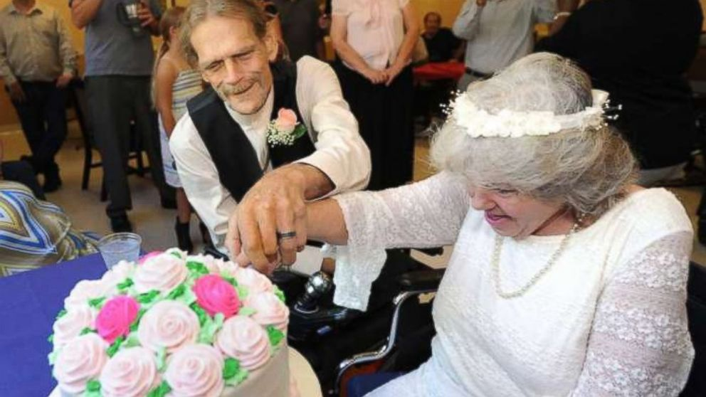 Terminally Ill Floridians Fall in Love: Terminally Ill Couple Married