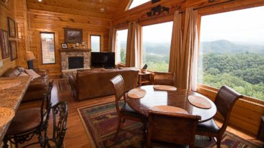 PHOTO: Timber Tops Luxury Cabin Rentals; Sevierville, TN