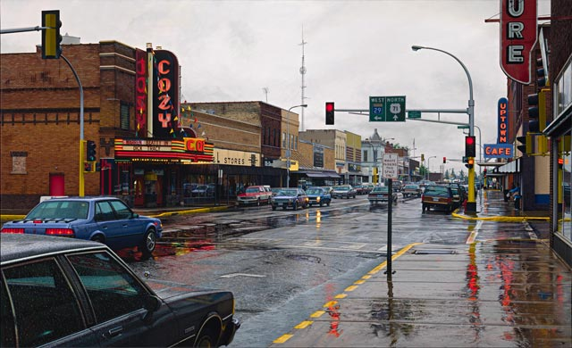 ht cozy rainy day ll 131002 wblog Photos or Paintings? The Hyperrealistic Art of Davis Cone