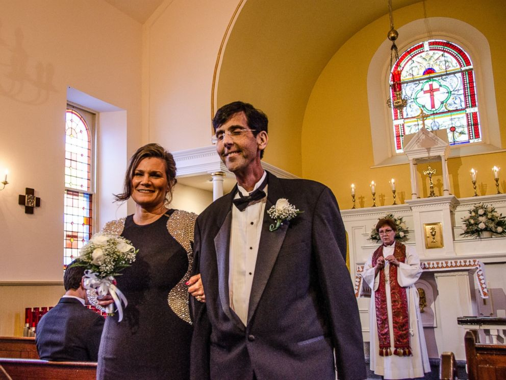 PHOTO: McHugh and his wife of 20 years also renewed their vows for the occasion.