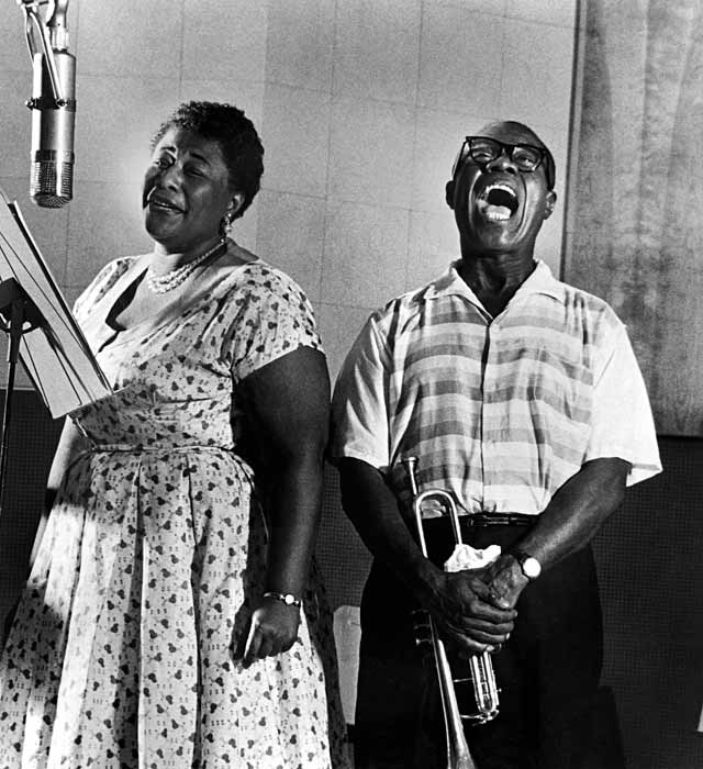 ht ella fitzgerald louis armstrong ll 130730 vblog Its An American Thing