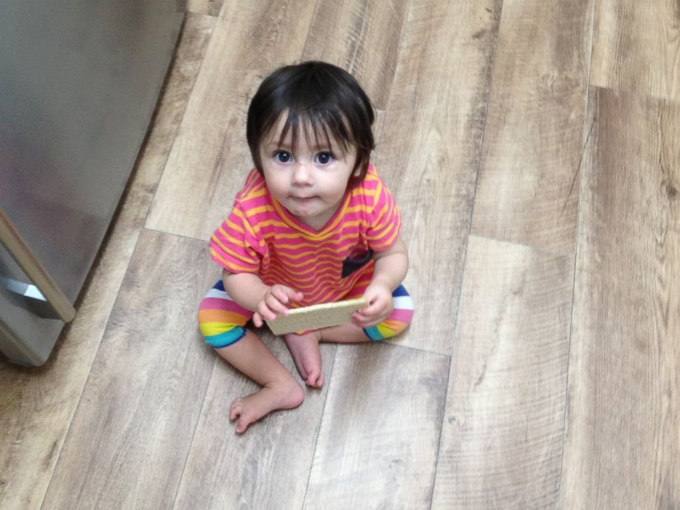 PHOTO: Dads hilarious responses on day-care questionnaire as is he is his 11-month old daughter, Emma, pictured here in this undated handout photo.