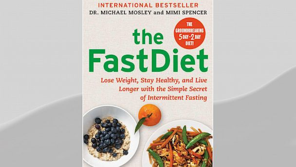 PHOTO: The FastDiet book.