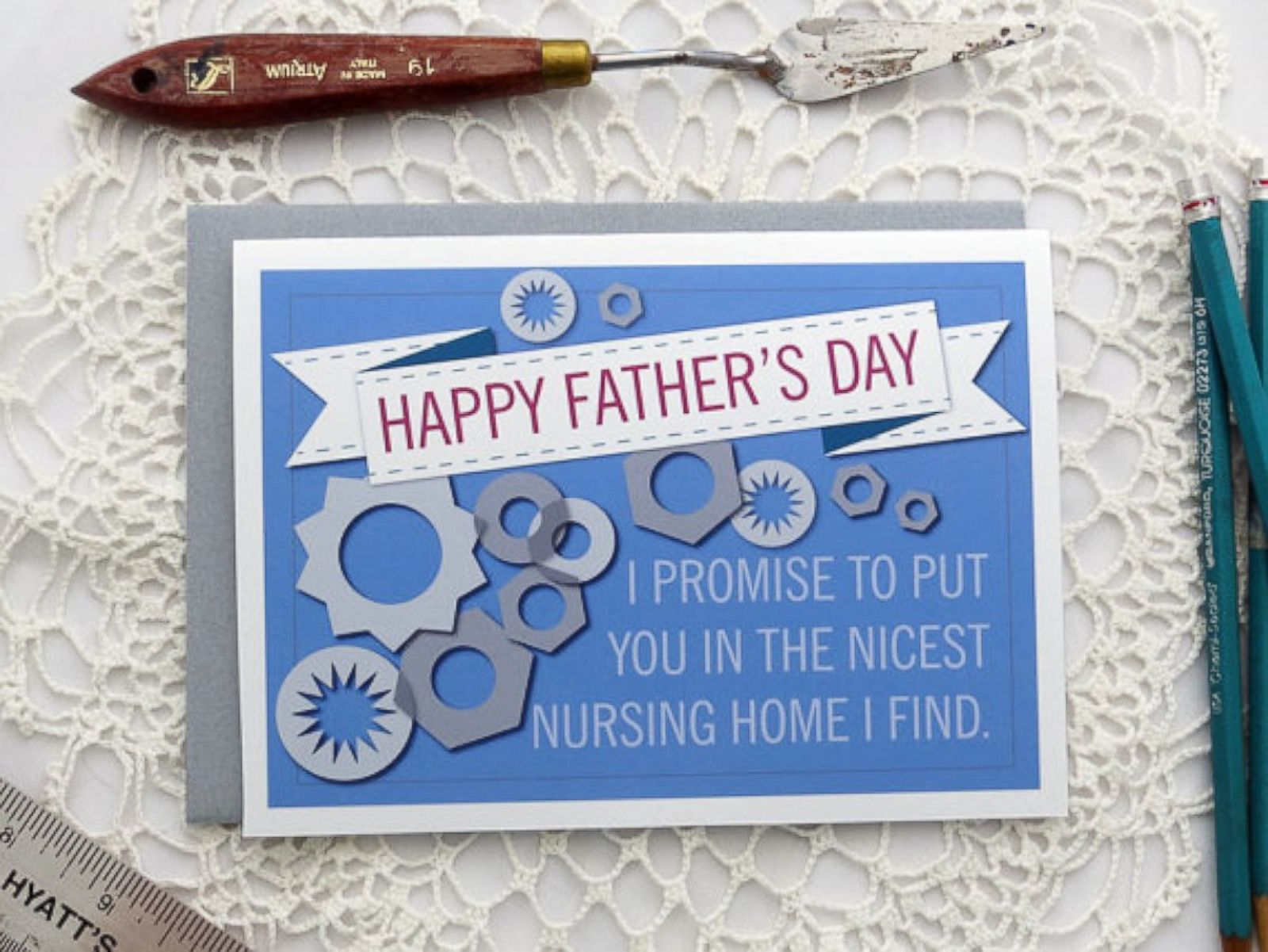 9 cards that will make dad laugh this father u0027s day photos abc news