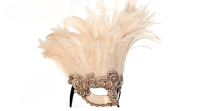 PHOTO:Feather Mask