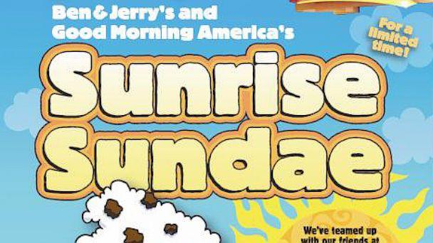 ht gma ben jerrys SundaePoster kb 130626 16x9 608 Good Morning America Gets Its Own Ben & Jerrys Sundae