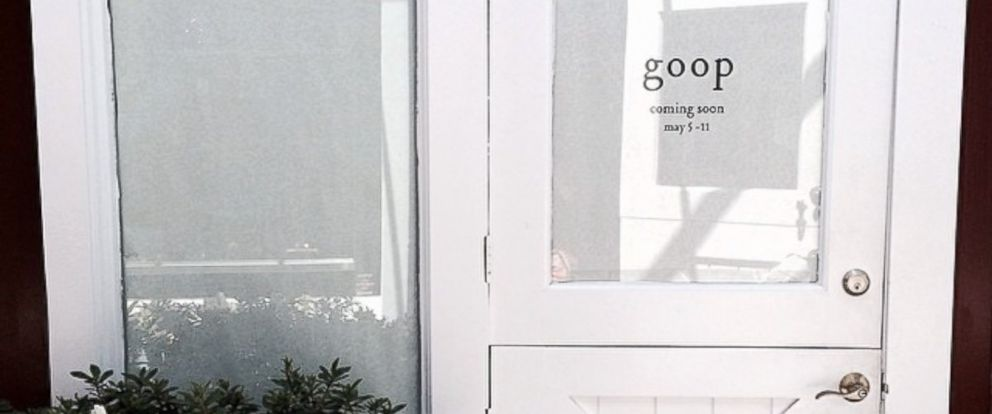 PHOTO: Gwyneth Paltrow posted an image to Instagram of a forthcoming Brentwood pop-up shop selling items recommended on her GOOP lifestyle site.