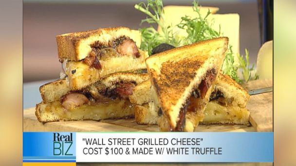ht grilled cheese kab 140127 16x9 608 How to Make Delmonicos White Truffle Wall Street Grilled Cheese
