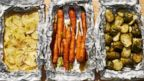 PHOTO: Guy Fieris recipe for Camping Roasted Vegetable Pouches.