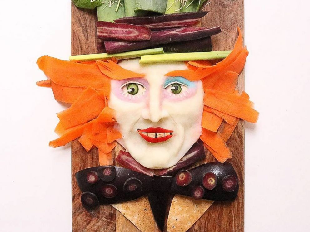 PHOTO: Mom Turns Healthy Food Into Famous Characters to Trick Her Son to Eat