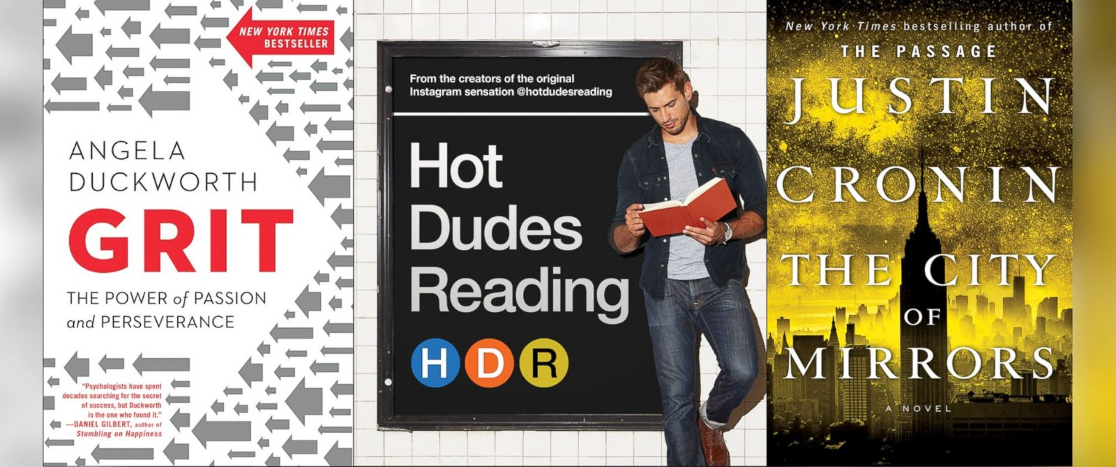 """PHOTO: """"Good Morning America"""" asked the dudes of """"Hot Dudes Reading"""" for the summer book picks."""