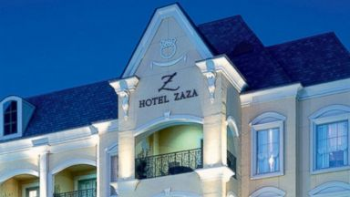 PHOTO: Set in Uptown Dallas, the stylish Hotel ZaZa is known for its one-of-a-kind themed suites.