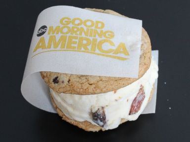 PHOTO: Coolhaus Good Morning America candied bacon and chocolate chip cookies ice cream sandwich.