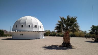 PHOTO: The Integratron is a sound bath destination located in Landers, California.