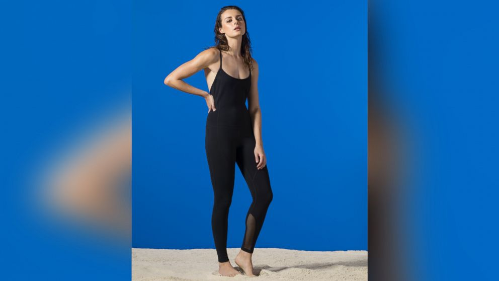 PHOTO:The one-piece workout jumpsuit is the latest trend in fitness fashion.