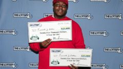 PHOTO: Kenneth J. Stokes won twice in the same lottery for a $546,000 payout.