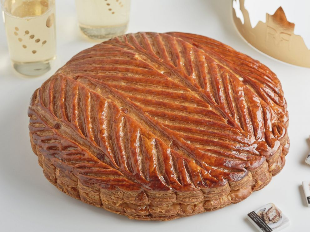 PHOTO: The Kings Cake/Galettes des Rois at Maison Kayser no longer is sold with a trinket baked inside. But one can be, upon request.