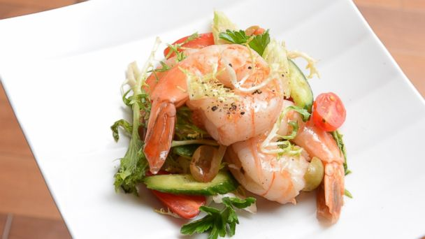 PHOTO: The Official Culinary Team of the Kentucky Derbys recipe for Bloody Mary Shrimp Salad.