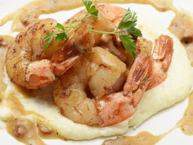 PHOTO: The Official Culinary Team of the Kentucky Derbys recipe for Derby Shrimp and Grits.