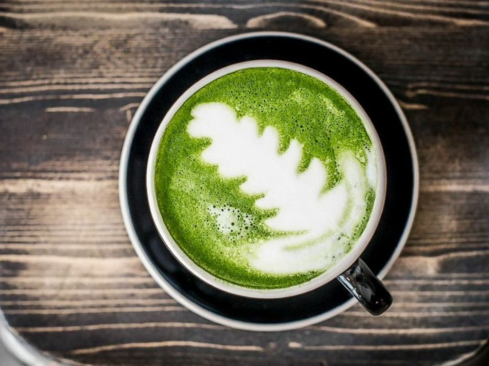 PHOTO: The vibrant green color of matcha makes for beautiful latte art.