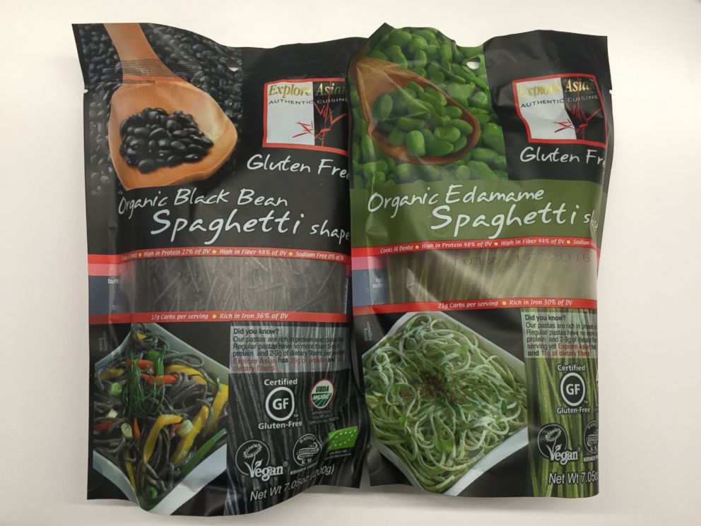 PHOTO: Explore Asians Organic Black Bean Spaghetti