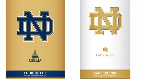 ht notre dame perfume jef 130625 wblog The Sweet Smell of Victory: Notre Dame to Debut Perfume