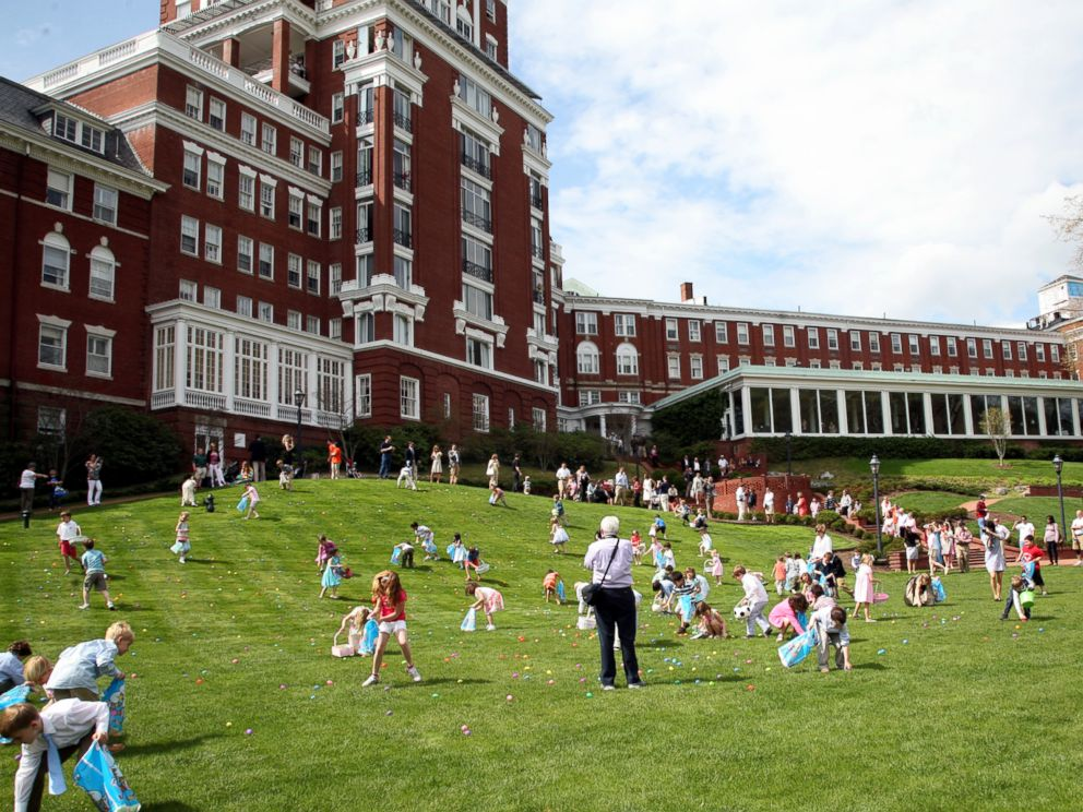 PHOTO: Pictured is the Omni Homestead.