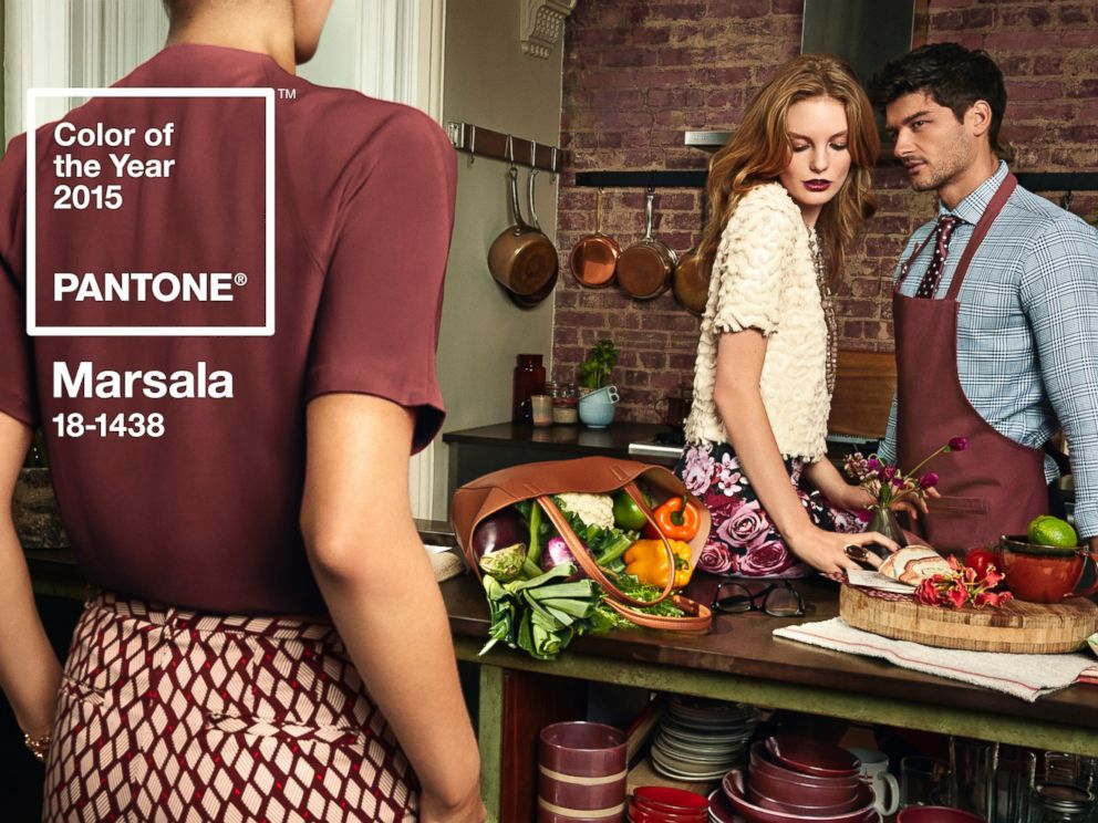 PHOTO: Pantone has announced its color of the year for 2015. The color is marsala, the company announced in a press release on Dec. 4, 2014.